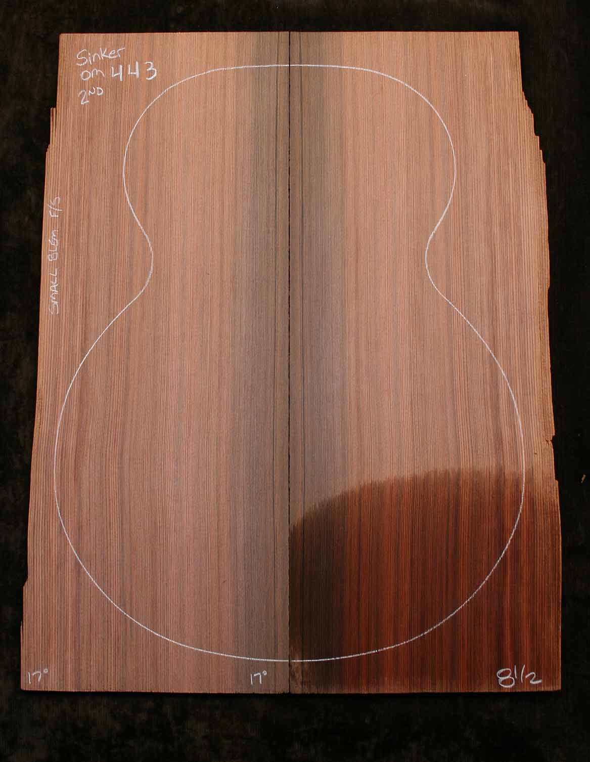 Sinker redwood top for om classical guitar om443 2nd from for Om fishing sinkers